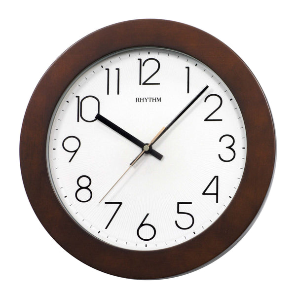 Rhythm Wall Clock Wooden RTCMG989NR06