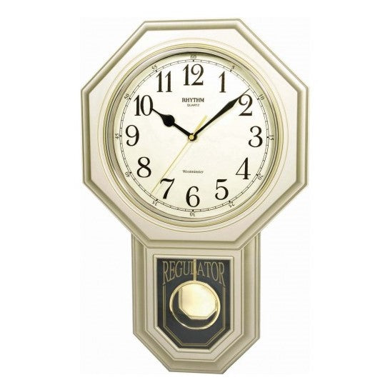 Rhythm Clock Quartz Wall Clock RTCMJ443BR18