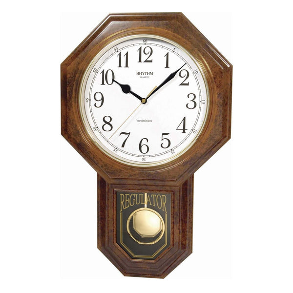 Rhythm Wall Clock Westminster Chime RTCMJ443NR06