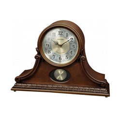 Rhythm Table Clock Wooden RTCRJ751NR06