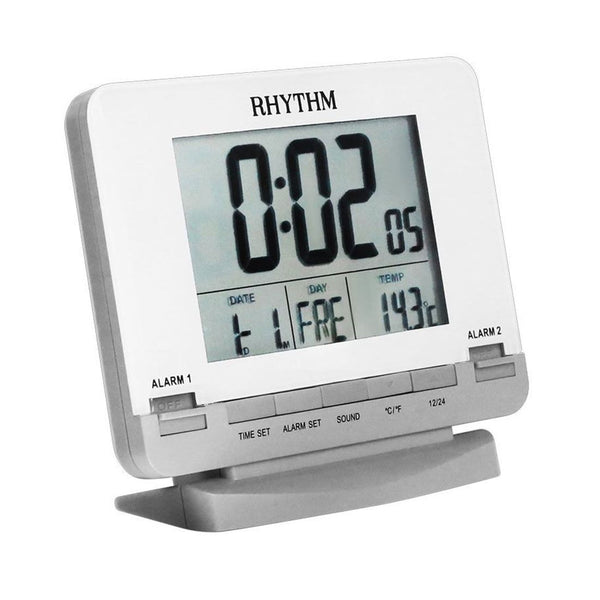 Rhythm Digital Alarm Clock RTLCT075NR03