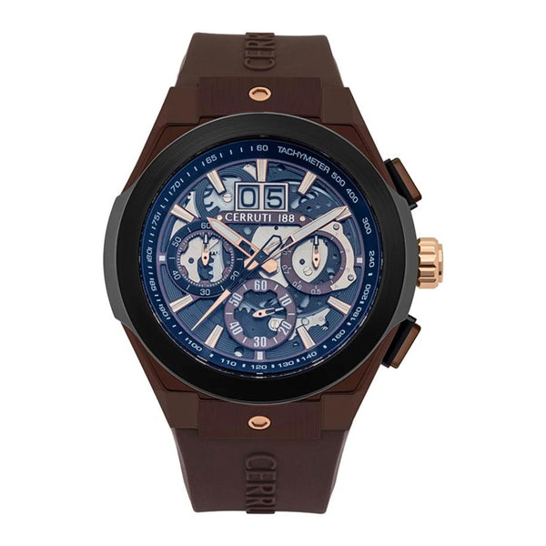 Cerruti 1881 Ruscello Chronograph Silicon Men Watch CTCRA28704