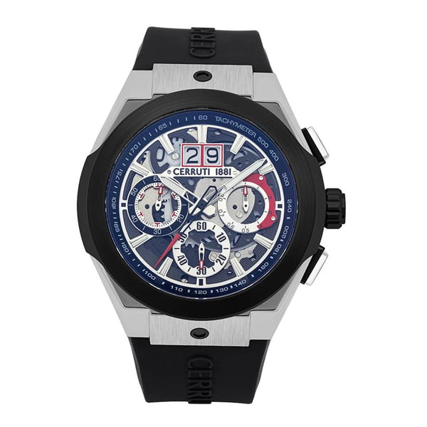 Cerruti 1881 Ruscello Chronograph Silicon Men Watch CTCRA28702