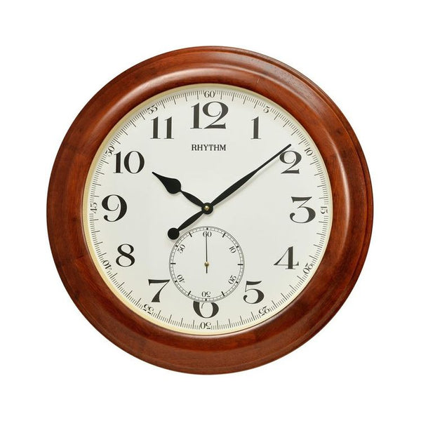 Rhythm Wall Clock Wooden RTCMG293NR06