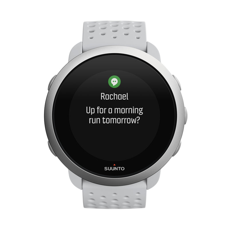 SUUNTO 3 PEBBLE WHITE - COMPACT SPORTS WATCH FOR HEALTH AND WELLBEING