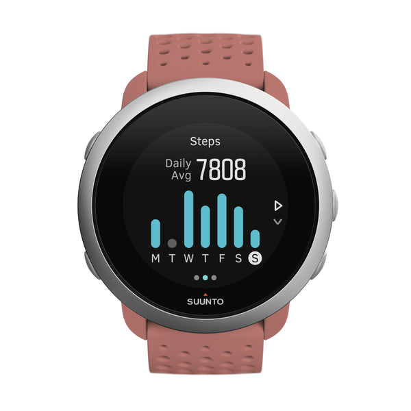 SUUNTO 3 GRANITE RED - COMPACT SPORTS WATCH FOR HEALTH AND WELLBEING