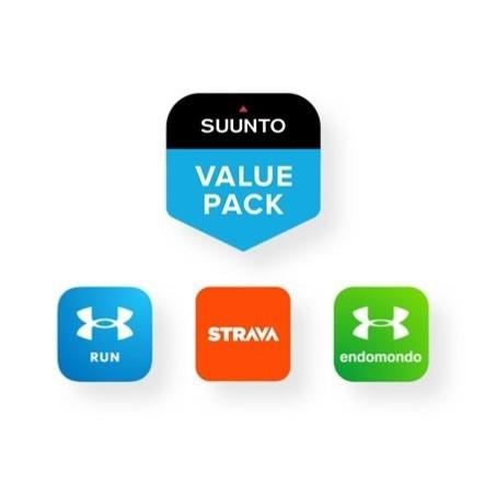 Suunto 3 All Black Limited Edition - Compact Sports Watch for Health & Well-Being