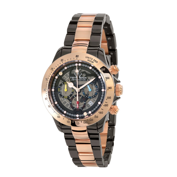 TToyWatch Chronograph Heavy Metal TYCHMC10BKPG