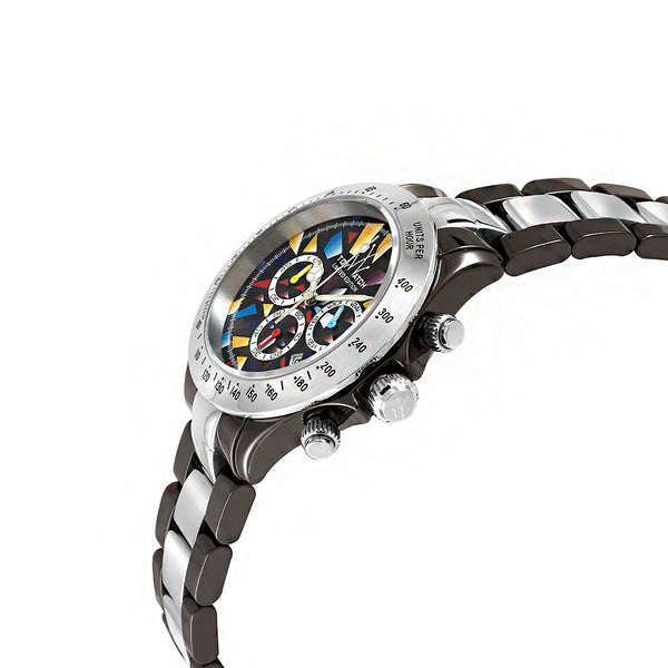 ToyWatch Chronograph Heavy Metal TYCHMC16BKSL