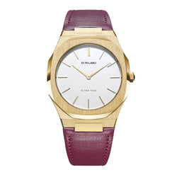 D1 Milano Ultra Thin 38mm Leather D1-UTLL03