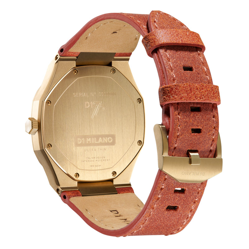 D1 Milano Ultra Thin 38mm Leather D1-UTLL06