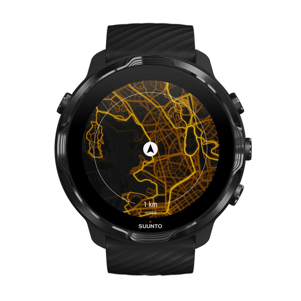 Suunto 7 All Black - Versatile GPS sports watch and smart watch in one