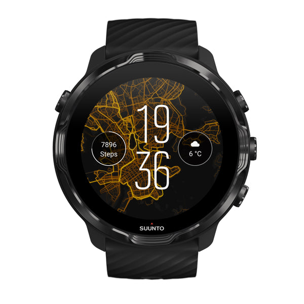 Suunto 7 Black Lime - Versatile GPS sports watch and smart watch in one