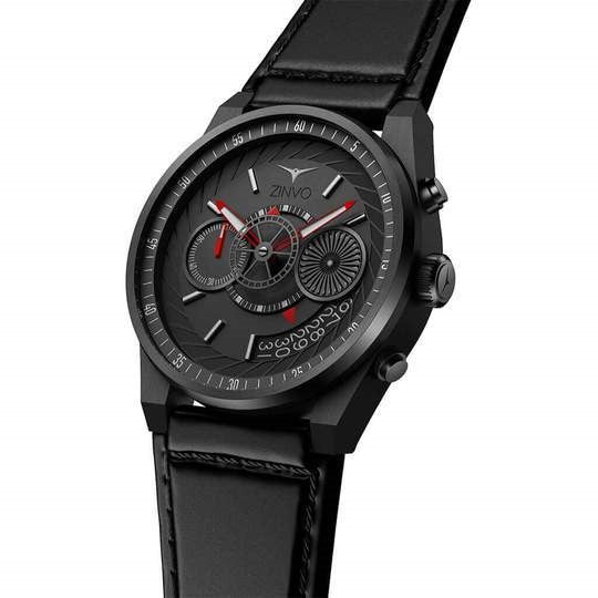Zinvo Black Chrono Men Quartz ZIBLACK-CHRONO