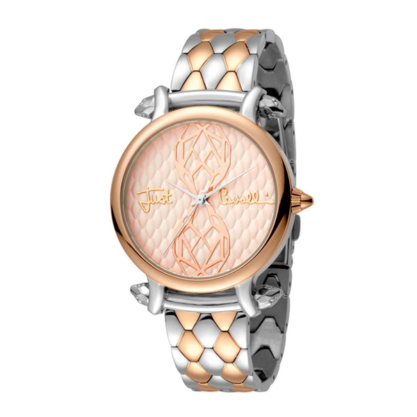 Just Cavalli Animal Quartz Watch & Bracelet Set JC1L061M0105