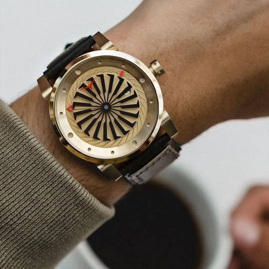 Zinvo Blade Gold Men Automatic ZIGOLD