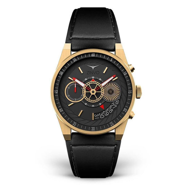 Zinvo Gold Chrono Men Quartz ZIGOLD-CHRONO