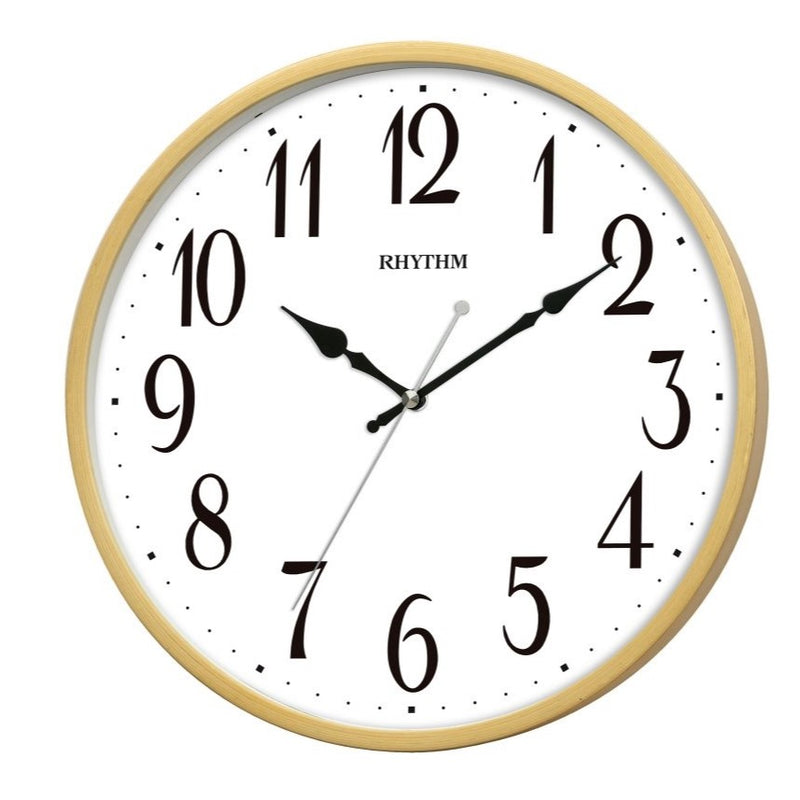 Rhythm Wall Clock Wooden RTCMG133NR07
