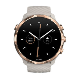 Suunto 7 Sandstone Rose Gold- The Smartwatch for Sporty Life (Free Gift)