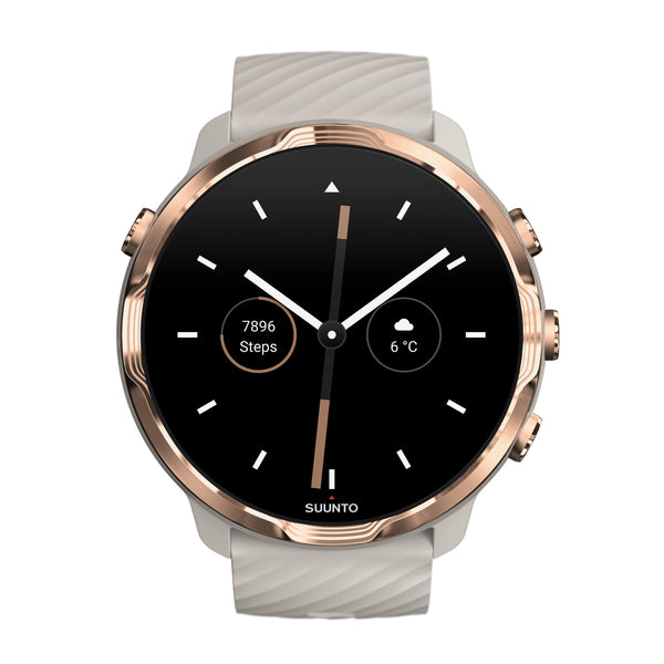 Suunto 7 Sandstone Rose Gold- The Smartwatch for Sporty Life