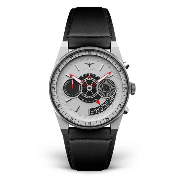 Zinvo Silver Chrono Men Quartz ZISILVER-CHRONO