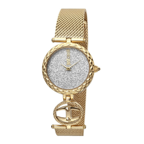 Just Cavalli JC Mini Women Watch Gift Set + Silver Bracelet JC1L103M0105