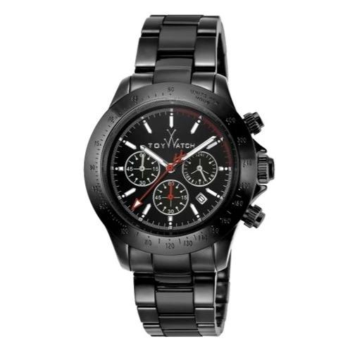 ToyWatch Chronograph Ceramic Men Watches Black TYCHMC01BK