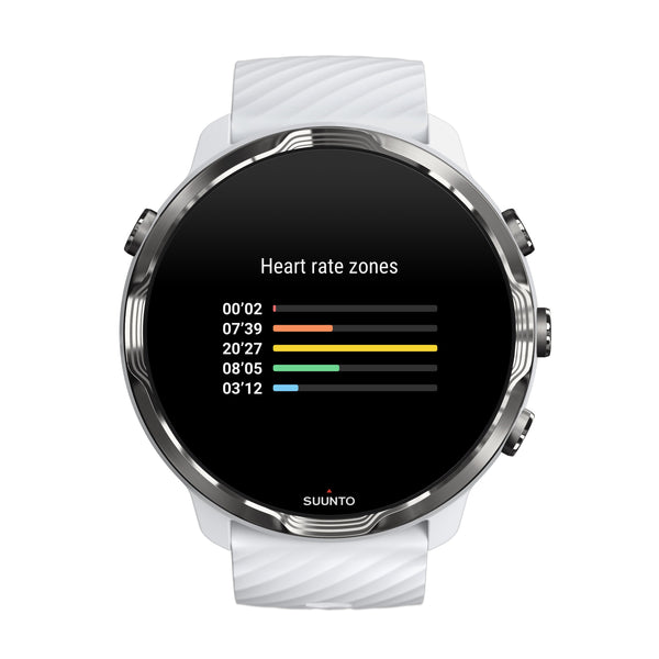 Suunto 7 White Burgundy- The Smartwatch for Sporty Life (Free Gift)