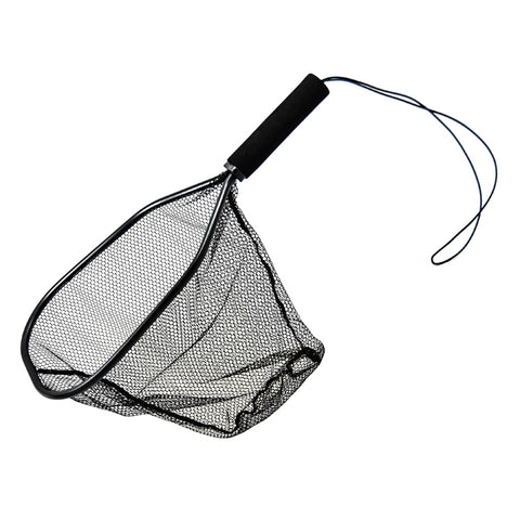 The Fly Tying Den Cortland Trout Net Landing Net Bamboo Net Rubber Net