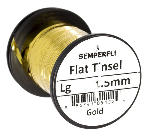 Semperfli Flat Tinsel Gold