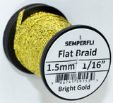 "Semperfli Flat 1.5mm 1/16"" Flat Braids"