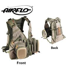 Airflo Outlander Vest and Back Pack