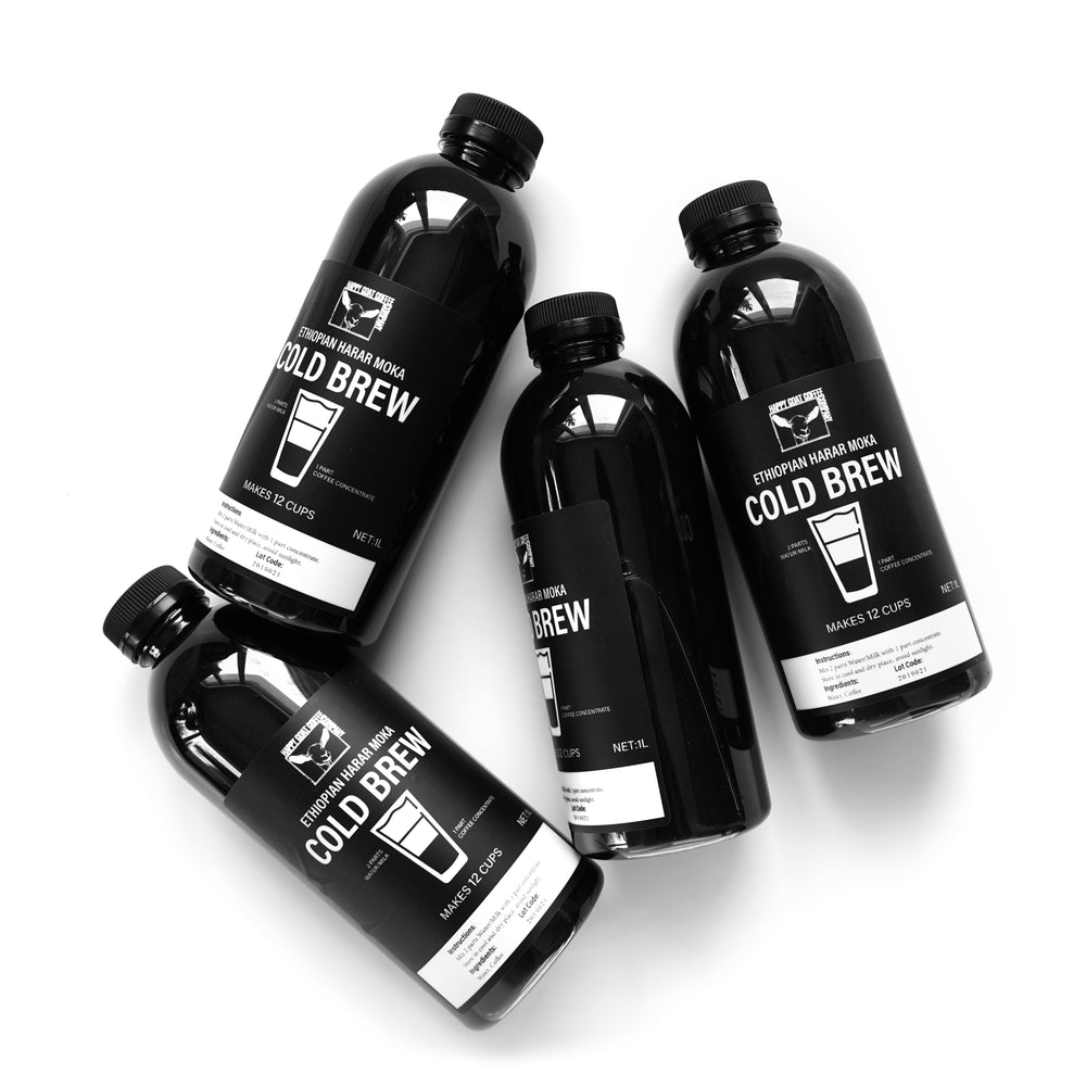 4 PACK - Cold Brew Concentrate 1L