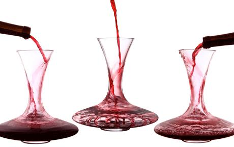 decanting younger wines