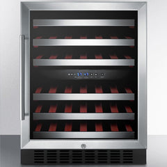 "Summit 24"" Dual Zone Wine Fridge SWC530BLBIST"