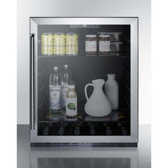"Summit 24"" Built-In Undercounter Beverage Center AL57G"