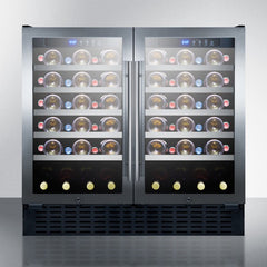 "Summit 36"" Wide Built-In Wine Fridge SWC3668"