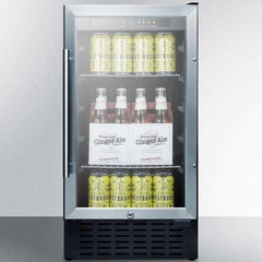 "Summit 18"" Wide Built-In Beverage Center SCR1841B"