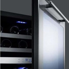 "Summit Classic 24"" Dual Zone Wine Fridge CL24WC2CSS"