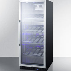 "Summit Commercial 24"" Champagne Series Wine Cooler SCR1156CH"