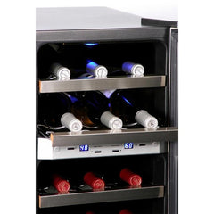 Whynter Dual Temperature Zone Wine Cooler WC-211DZ