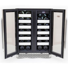 Whynter Elite Dual Zone Built-In Wine Refrigerator BWR-401DS