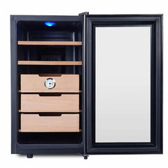 Whynter Elite Touch Control Cigar Cooler Humidor CHC-172BD