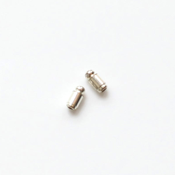 Duster Earrings: Gold/Blanco