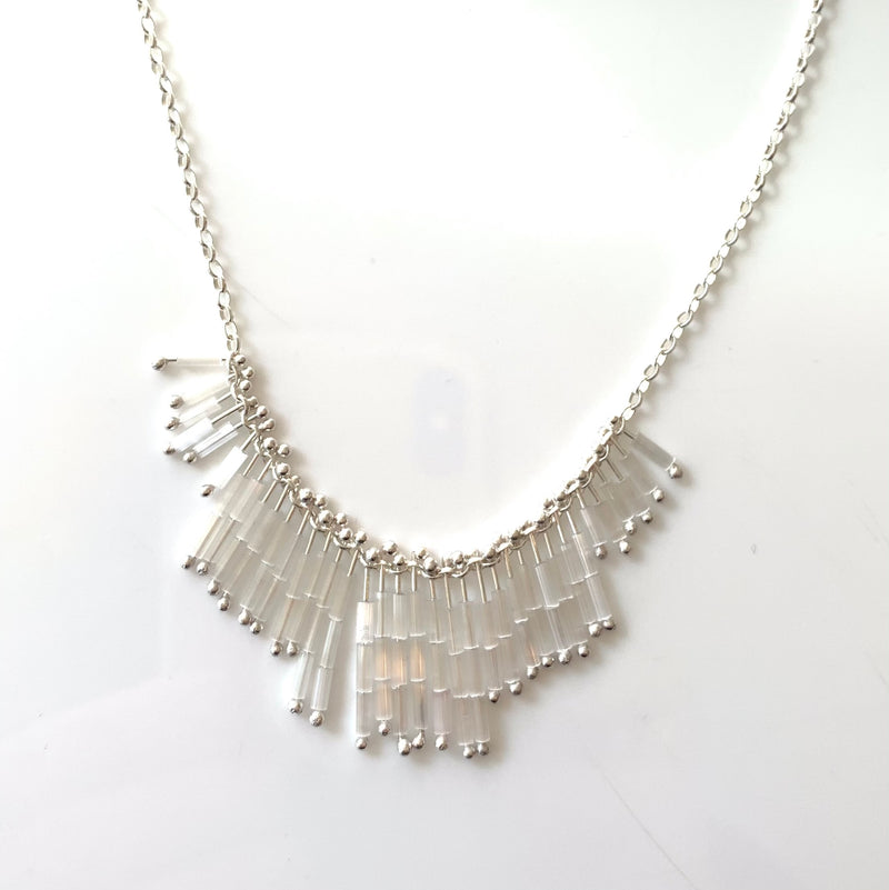 Mini Deco Necklace: Blanco