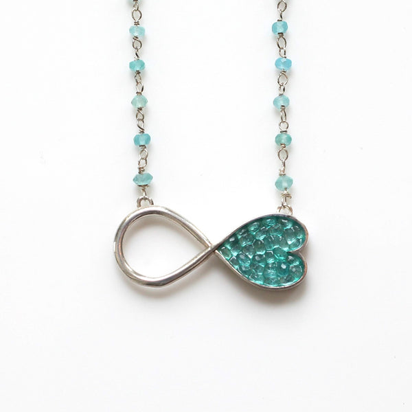 Infinity Heart Pendent