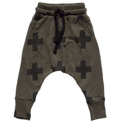 Charlie Cross Pants - Army