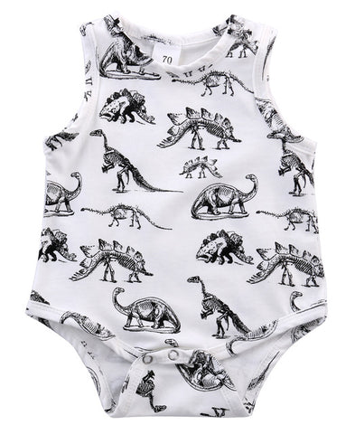 Harry Dino Romper