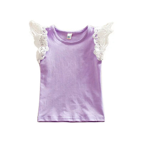 Princess Short Sleeve - Purple
