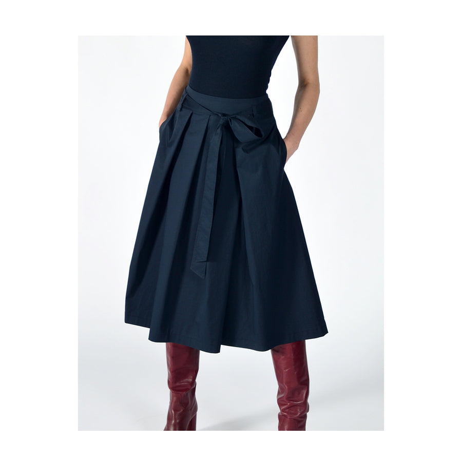 "Skirt ""DUFFY"" navy"